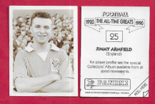 England Jimmy Armfield Blackpool 25